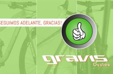 """Los resultados de Gravis Cycles y su """"Venta en Verde"""""""